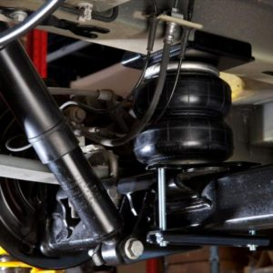 fiat ducato air suspension kit fitted